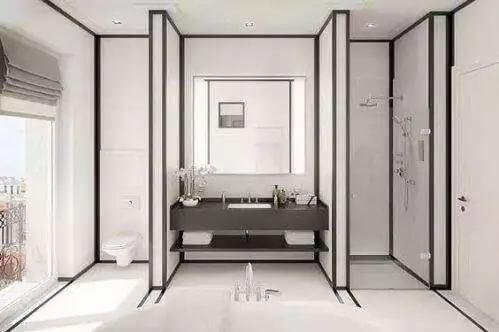 22款卫生间干湿分离设计,后悔我家装早了